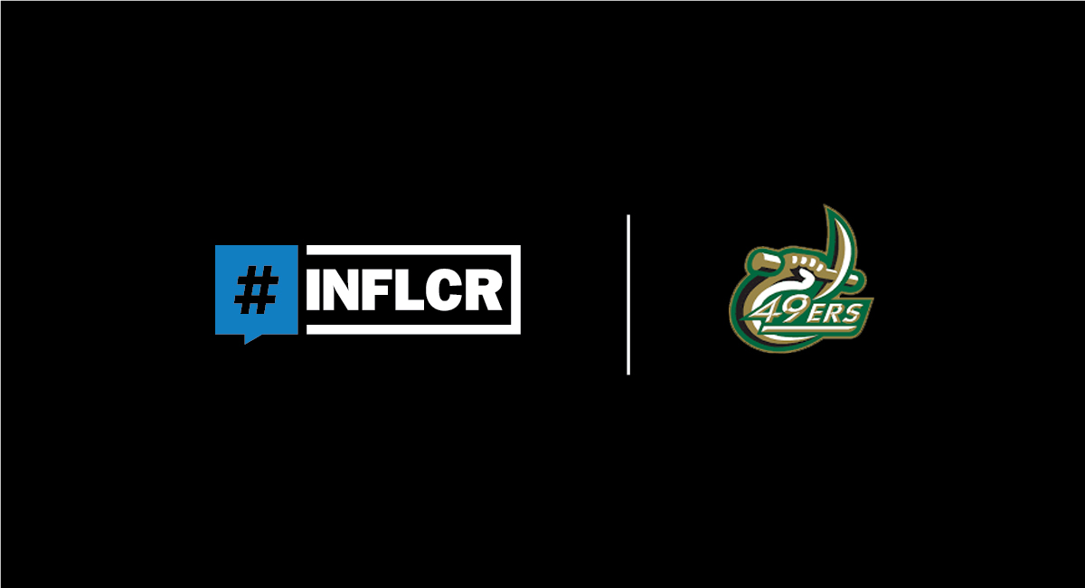INFLCR, Charlotte 49ers announce digital partnership for all sports