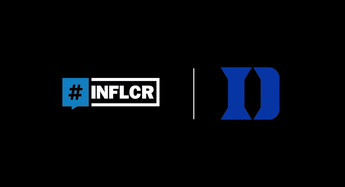 INFLCR, Duke Basketball announce partnership