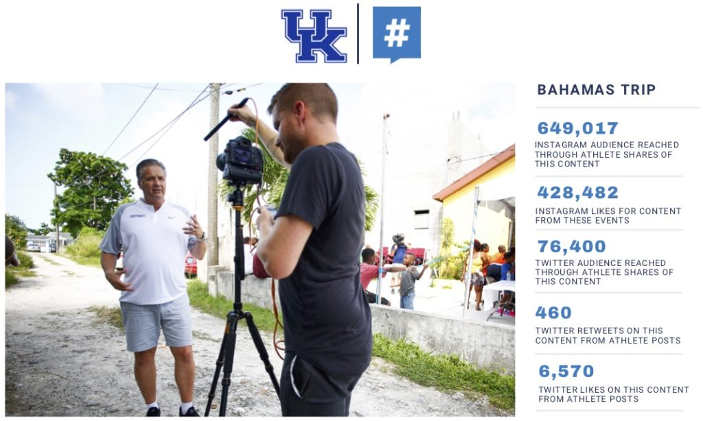 Kentucky Basketball takes social-media game to next level during recent trip to Bahamas