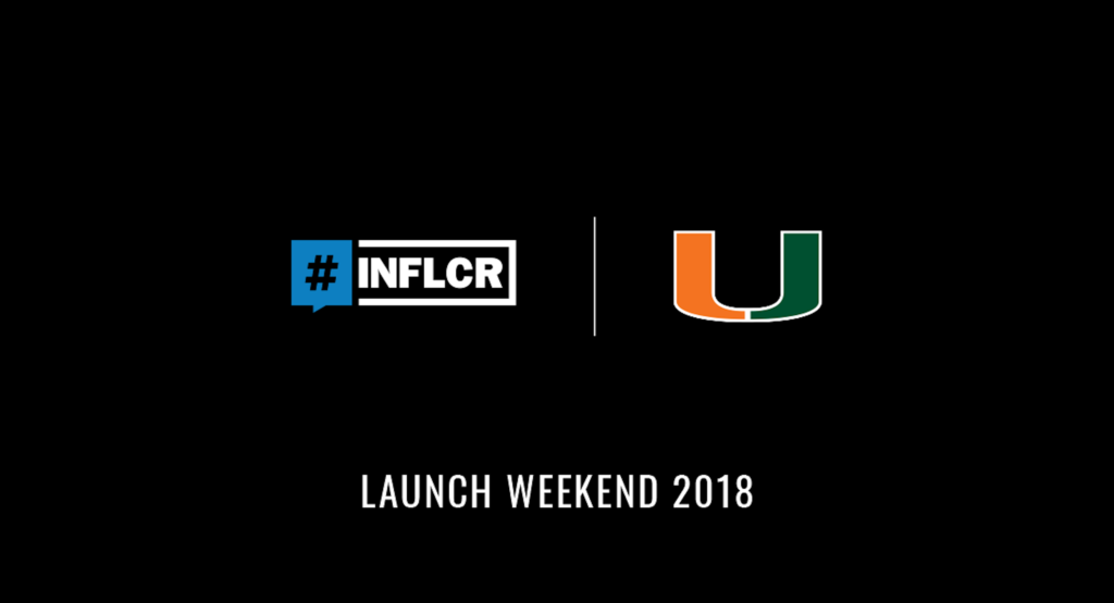 INFLCR partnership delivers immediate impact for University of Miami football