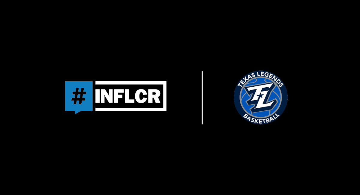 INFLCR, NBA G League's Texas Legends announce partnership