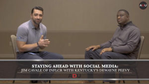 Jim Cavale and DeWayne Peevy sit down and discuss social media strategy