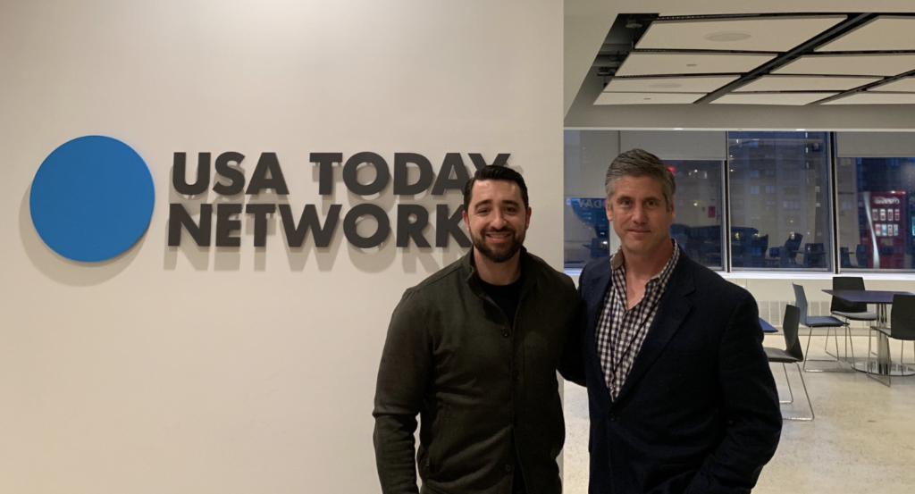 INFLCR, USA Today's IMAGN team up to deliver content to athletes