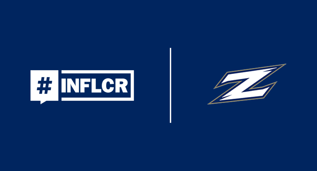Akron Athletics Joins INFLCR