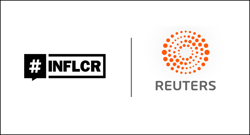 INFLCR announces partnership with Reuters